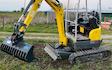 Jon richards contracting  with Excavator at East Hewish