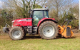 Wildwoods contractors with Mulcher at United Kingdom