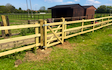Mh agricultural ltd with Fencing at Cranfield