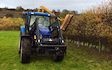 Tractorjon.com with Hedge cutter at United Kingdom