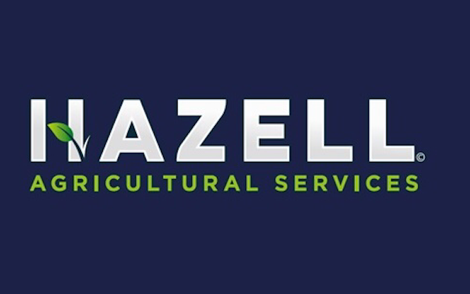 Hazell agricultural services with Self-propelled sprayer at Souldern