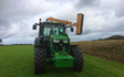 Simon shadrick contractors with Hedge cutter at Ashwater