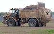 Alternative fertiliser solutions  with Manure/waste spreader at Sutton Benger
