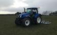 Dubby agri with Chain harrow at Newburgh