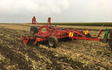 Roger smith contracting  with Disc harrow at Braebrook Drive