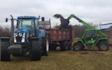 Hjortlund landbrug & maskinstation med Møgspreder ved Grindsted