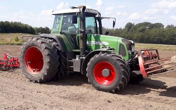 Dam agroservice med Traktor 201-300 hk ved Kirke Hyllinge