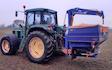 Havemark maskinservice med Gødningsspreder ved Haslev