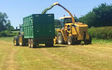 Ehj contracting  with Silage/grain trailer at United Kingdom