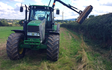 A and hr salisbury with Hedge cutter at Walkmills