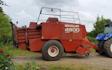 Larsen landbrugsservice med Bigballepresser ved Rødding