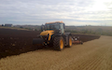 J. steel contracting  with Plough at Cauldhame Farm Road