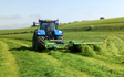 Wolds contracting with Mower at Acklam