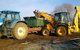 Mwm-services with Excavator at Stanwick