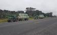 Cathcart contracting ltd  with Flat trailer at Waikokowai