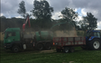 Bækkevang skovservice v/ preben andersen med Flishugger ved Aakirkeby