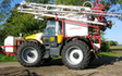 B j m haste farming  with Tractor-mounted sprayer at Aldringham