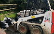 Jb plant  with Skid steer loader at Okehampton