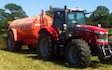 Neil chapman plant hire  with Slurry spreader/injector at Bushs Orchard