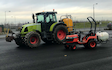 Dan beaumont with Tractor-mounted sprayer at Ripponden