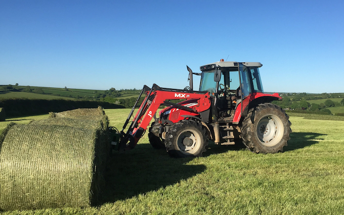 Spencer agricultural services with Tractor 100-200 hp at United Kingdom