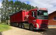 Vognmand poul pedersen med Lastbil ved Skanderborg