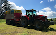 Wildwoods contractors with Forage harvester at United Kingdom