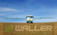 Waller precision spraying and direct drilling ltd  with Self-propelled sprayer at Woodbury