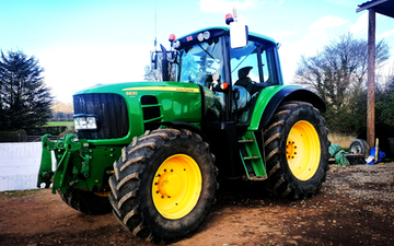 Cotswold contractors (glos) ltd with Tractor 100-200 hp at Upton Saint Leonards