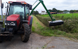 Wr hanson & son with Hedge cutter at Coningsby
