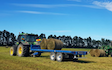Chapman agriculture ltd  with Flat trailer at Cust
