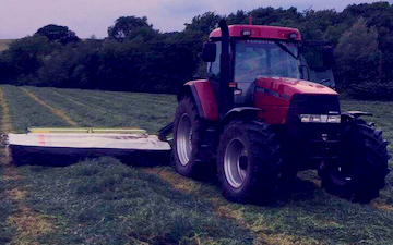 Bc&jwilson  with Mower at Finghall