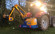 Mb land services  with Hedge cutter at Frampton Cotterell