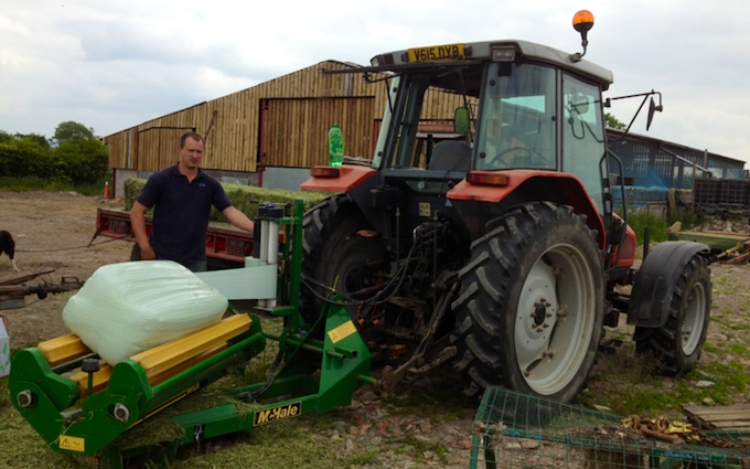 Jon richards contracting  with Wrapper at East Hewish