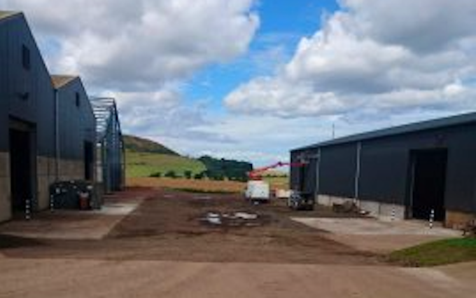 Leslie farm services ltd  with Grain and cereal dryer at United Kingdom