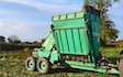Clarke farming and contracting  with Beet harvester at United Kingdom