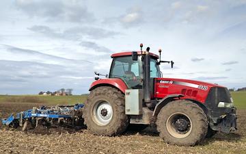 Thorsmark agro a/s med Dybdeharve ved Randers