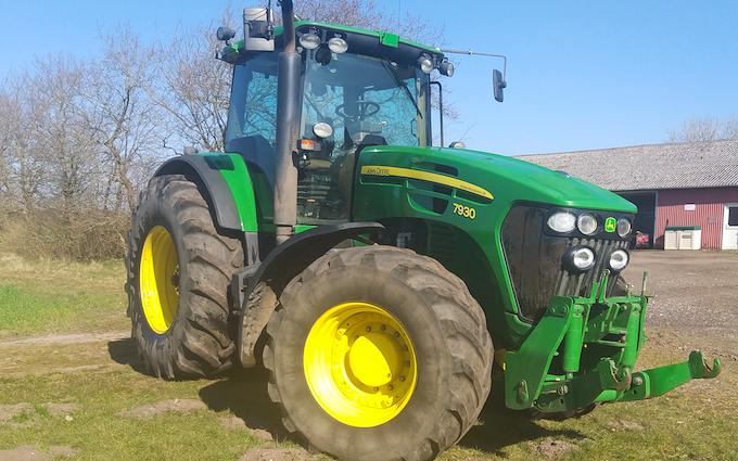 J enterprises med Traktor 201-300 hk ved Billund