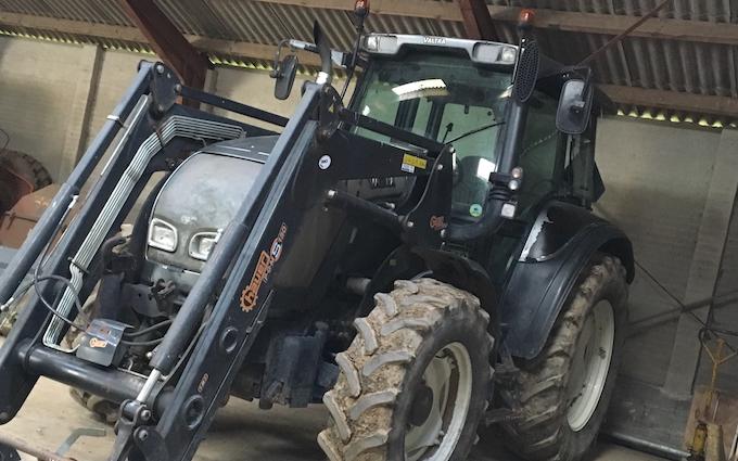 Nn agro aps  med Traktor 101-200 hk ved Christiansfeld