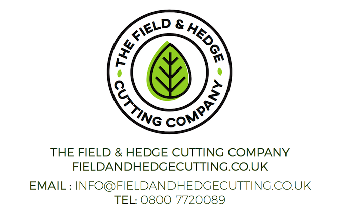 The field and hedge cutting company ltd with Hedge cutter at Charlwood