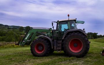 Sophiendal gods med Traktor 201-300 hk ved Skanderborg