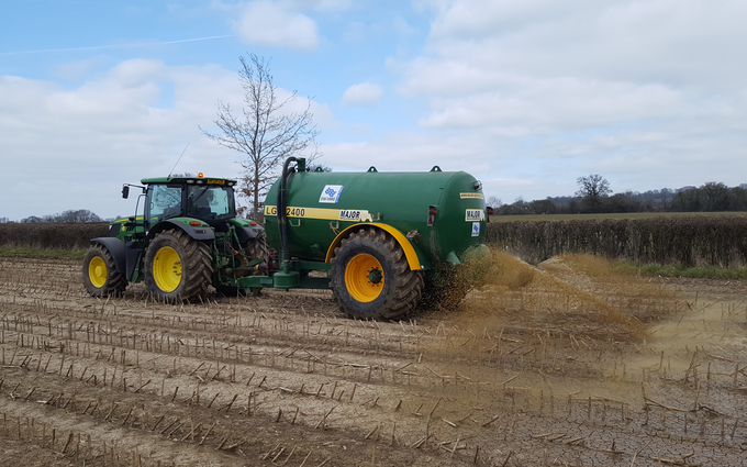 Sw machinery hire ltd with Slurry spreader/injector at Lacock, Chippenham