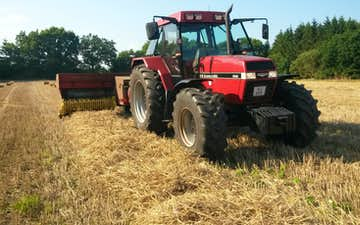 Askebjerg med Traktor 101-200 hk ved Vorbasse
