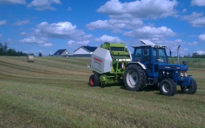 Rk-agri med Rundballepresser ved Viborg