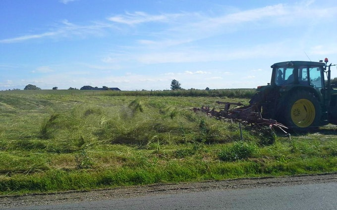 Anden´s agro service med Vender ved Slangerup