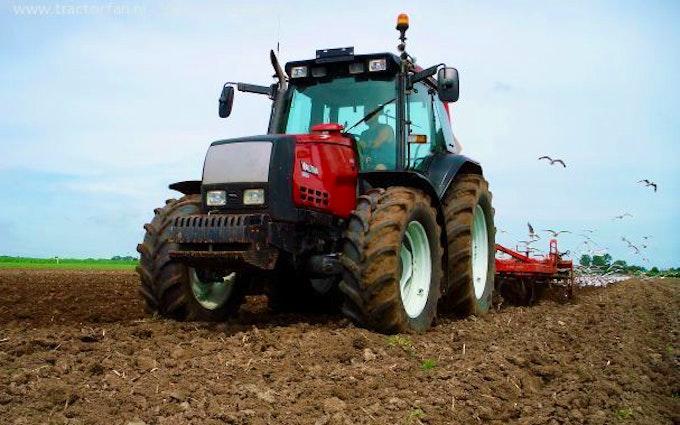 Galten overgaard med Traktor 101-200 hk ved Galten