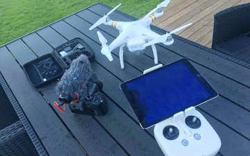 Ehmedia med Drone ved Aalborg