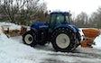 Ih grave- og landbrugsservice med Sand/saltspredning ved Klemensker
