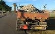 Ih grave- og landbrugsservice med Alm. vogn ved Klemensker