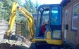 Ih grave- og landbrugsservice med Minigraver ved Klemensker